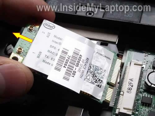 Как разобрать ноутбук HP Pavilion dv5 (7)