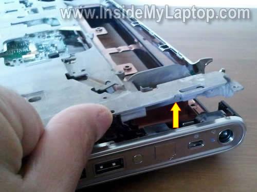 Как разобрать ноутбук HP Pavilion dv5 (27)