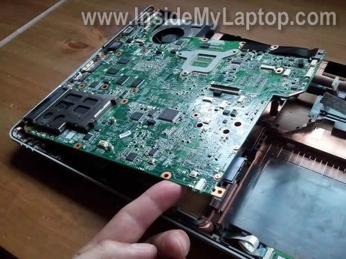 Как разобрать ноутбук HP Pavilion dv5 (30)