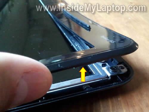 Как заменить экран на ноутбуке HP Pavilion dv5 (5)