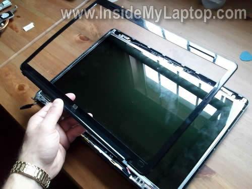 Как заменить экран на ноутбуке HP Pavilion dv5 (7)