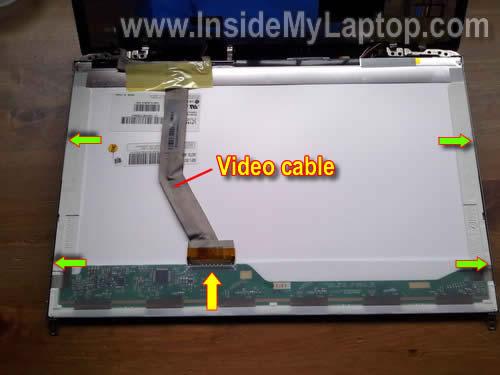 Как заменить экран на ноутбуке HP Pavilion dv5 (9)