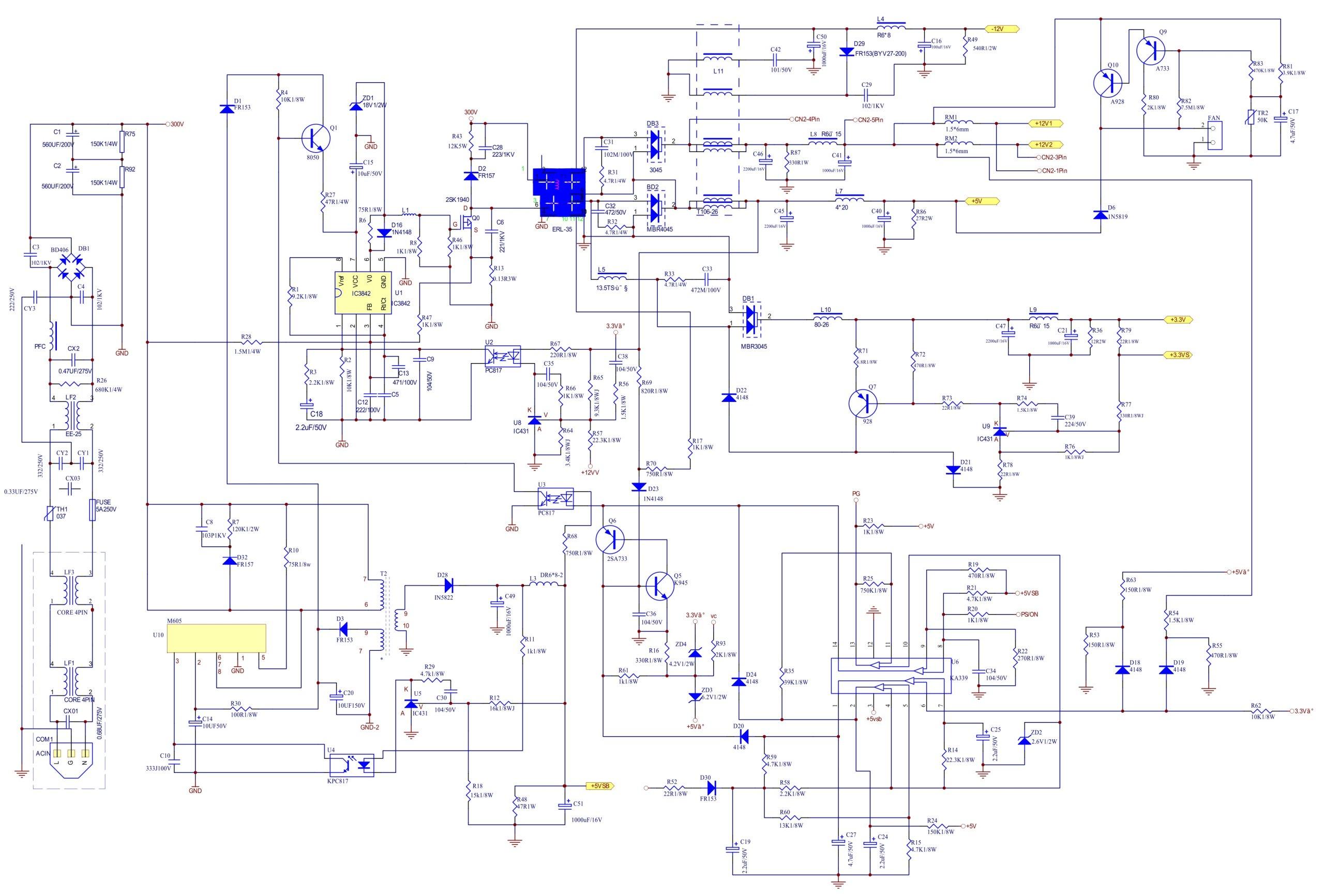 Схема colorsit 350u-sch