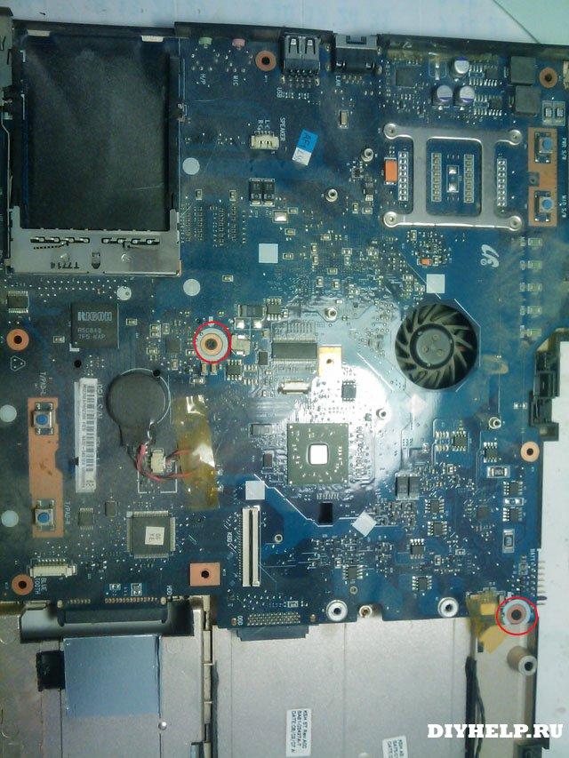 Разборка Samsung R40