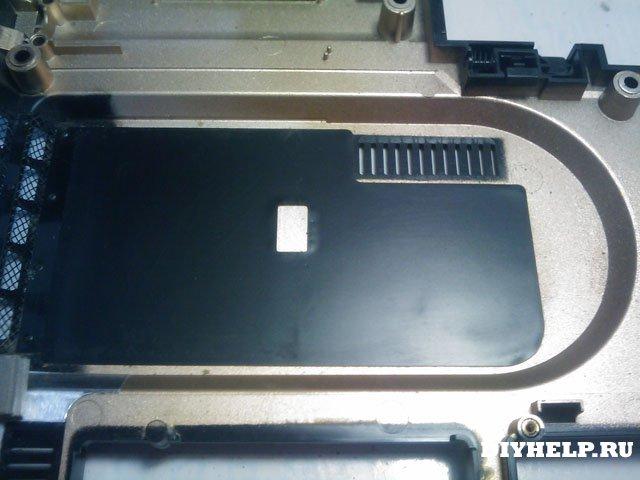 Ноутбук SAMSUNG R40 plus - схема разборки, чиска, сборка.