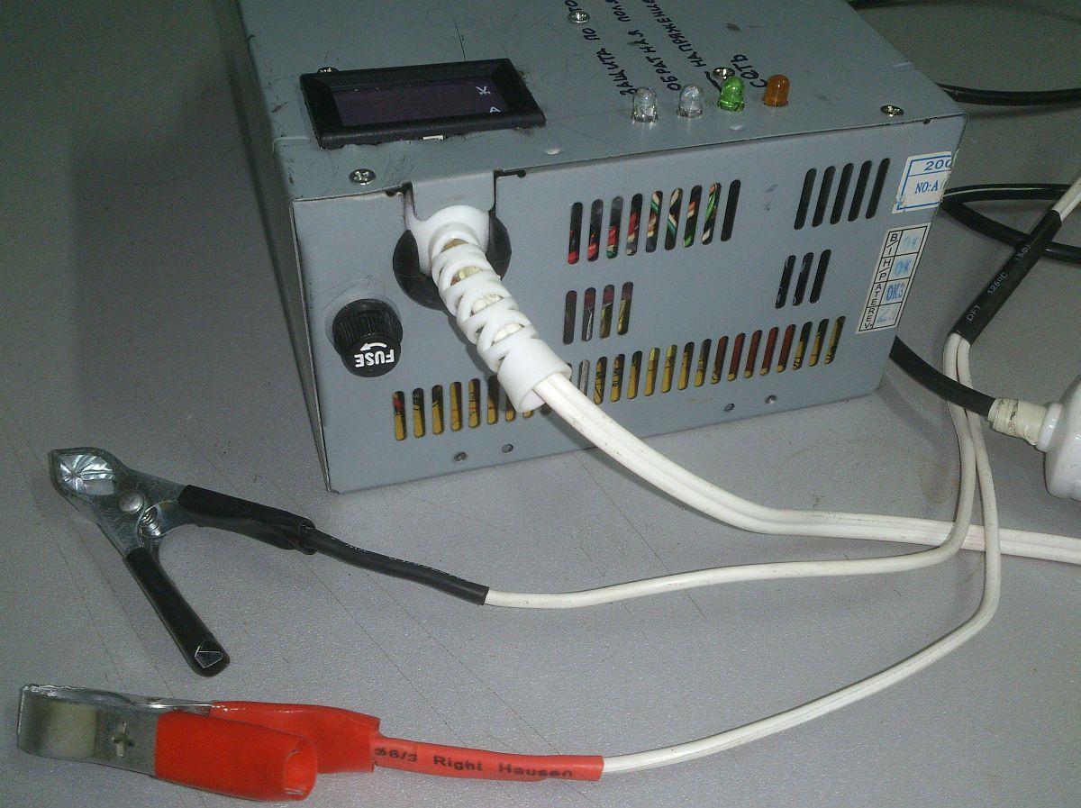 Из компьютерного блока питания - лабораторный и зарядное 6