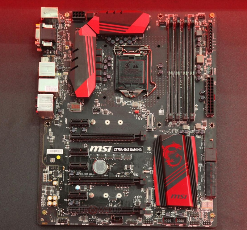 MSI Z170A-G45 Gaming