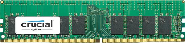 Серверный модуль Crucial RDIMM ёмкостью 16 Гбайт