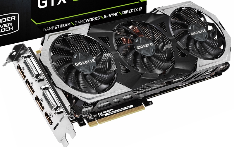 Видеокарта Gigabyte GeForce GTX 980 Ti G1 Gaming