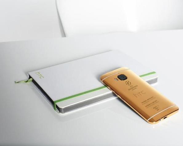 Золотая версия HTC One M9