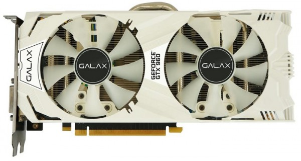 Galax GeForce GTX 960 EXOC White
