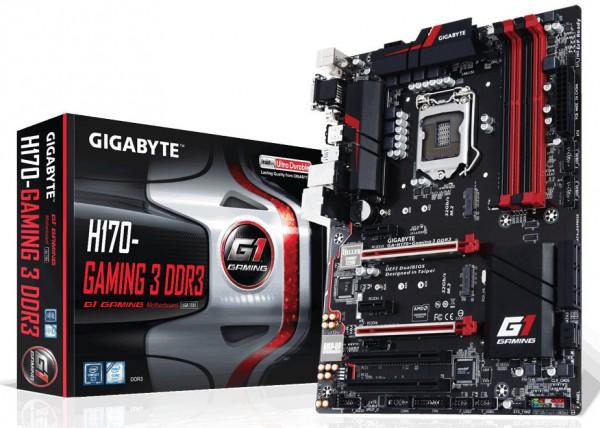 Gigabyte H170-Gaming 3 D3