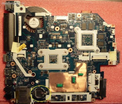 13-батарейка БИОС Acer Aspire 5750G