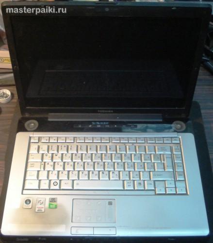 внешний вид ноутбука Toshiba Satellite A200