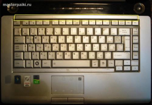 клавиатура ноутбука Toshiba Satellite A200