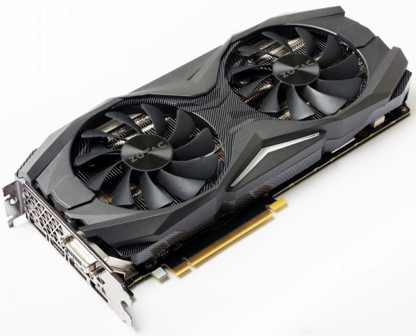 Zotac GeForce GTX 1080, GTX 1070 AMP Edition
