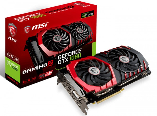 MSI GeForce GTX 1080 GAMING Z