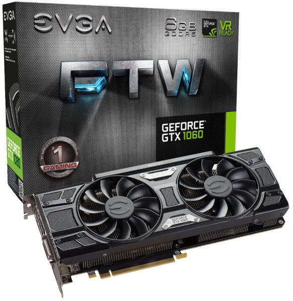 EVGA GeForce GTX 1060 FTW GAMING ACX 3.0