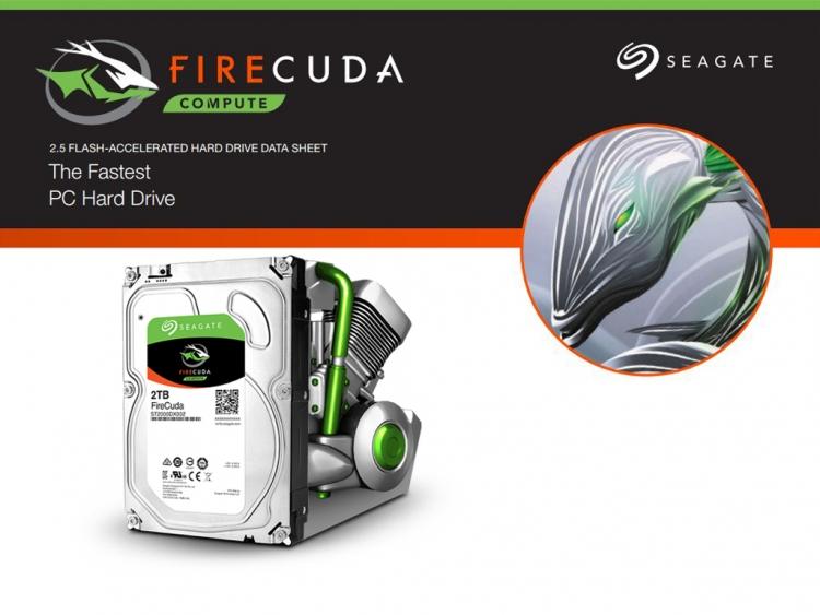 Гибридные HDD Seagate FireCuda