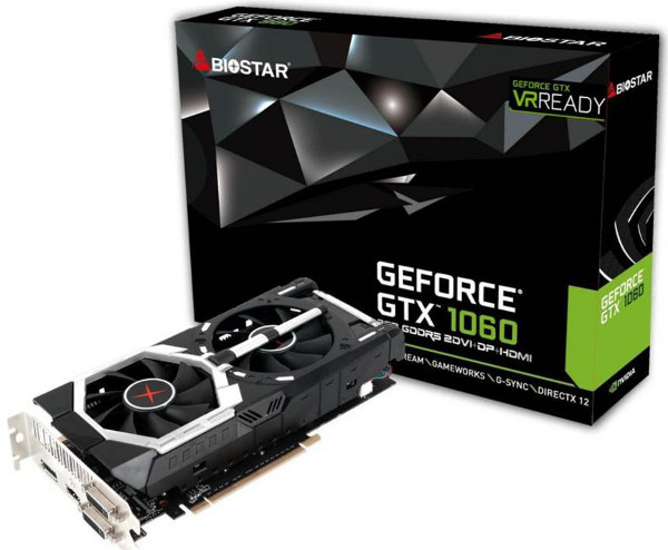 Biostar GeForce GTX 1060