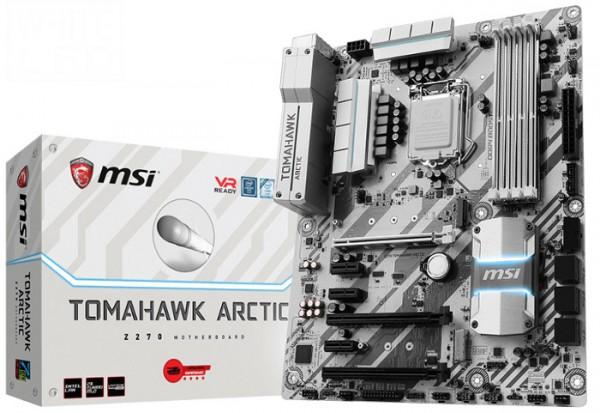MSI Z270 Tomahawk Arctic