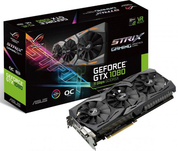 ASUS GeForce GTX 1080 StriX 11Gbps OC