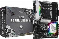 Иллюстрация к новости ASRock представила материнские платы B450 Steel Legend и B450M Steel Legend