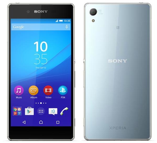 Смартфон Sony Xperia Z4 весит 144 г