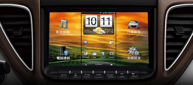Автомобильный медиацентр Think+ Touch OBU 2015