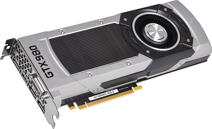 Квартет GeForce GTX 980