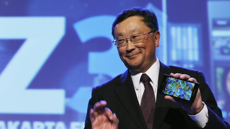 исполнительный директор BlackBerry Джон Чен