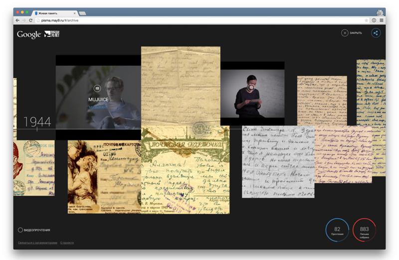 онлайн-архив писем военных лет