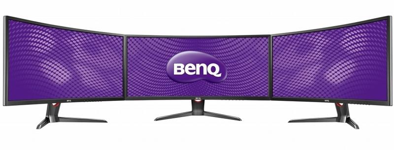 3 монитора BenQ XR3501