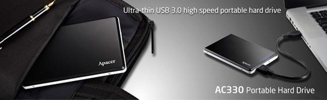 USB 3.0 HDD Apacer AC330
