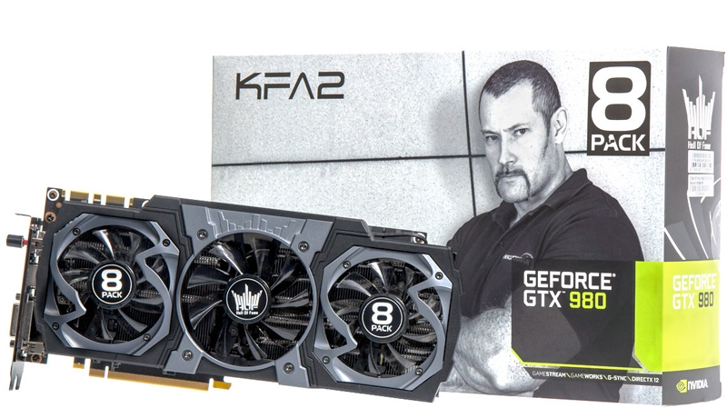 KFA2 GeForce GTX 980 8Pack Edition