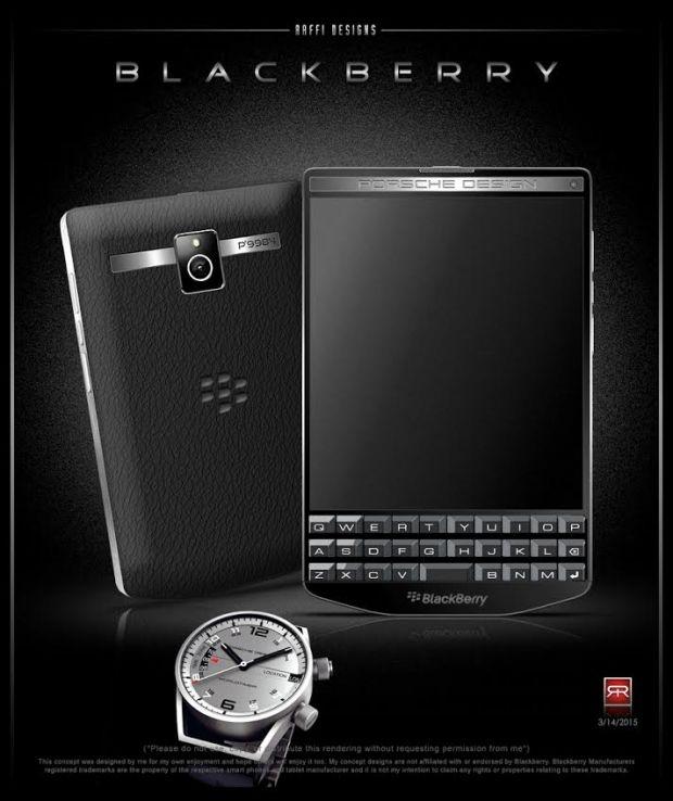 Концепт BlackBerry Porsche Design P'9984