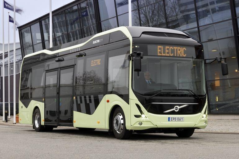 Электробус Volvo