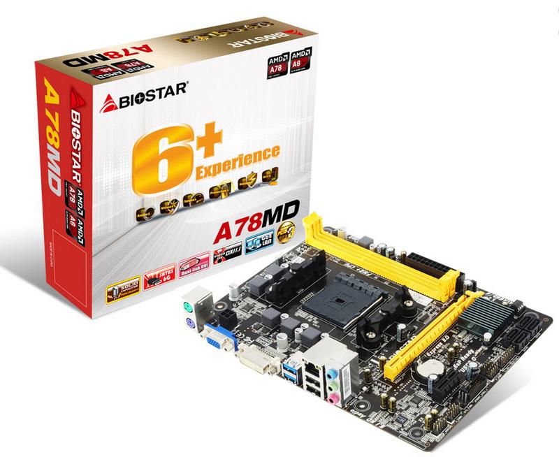 Biostar A78MD