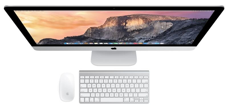 Настольный компьютер iMac