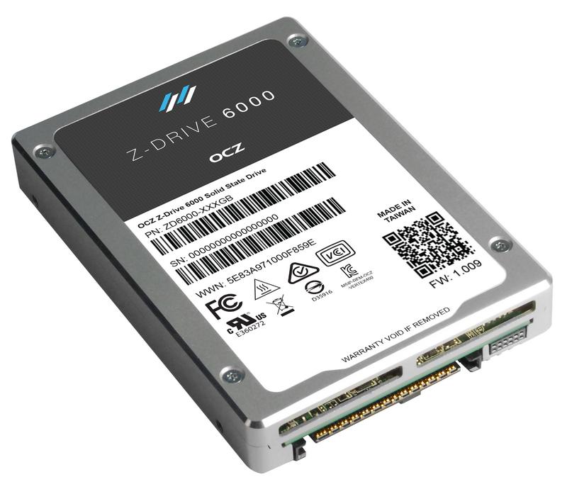 Накопитель OCZ Z-Drive с интерфейсом NVMe