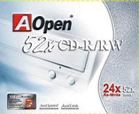 Рис. 1. AOpen CD-RW 52X
