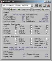 Рис. 2. Nero Info Tool