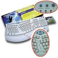 Рис. 1. SVEN Ergonomic 2500 InterNet Pro Multimedia Keyboard