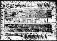Рис. 2. Сравнение «фотографии» поверхности кристалла с оригиналом