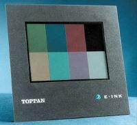 Рис. 6. Цветные дисплеи на электронных чернилах