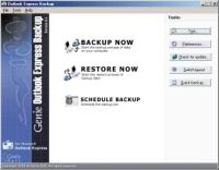 Рис. 3. Outlook Express Backup 6.5