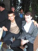 Александ Жаворонков(слева) и Константин Мартыненко