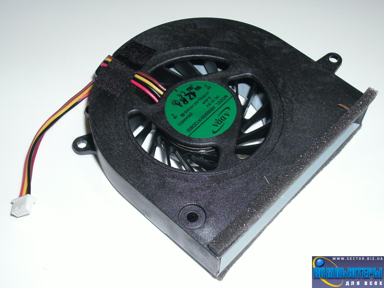 Кулер к ноутбуку Lenovo G460 G460A G560 Z460 Z460A Z465 Z560 Z565 p/n: AB06505HX12DB00. Фото № 2.