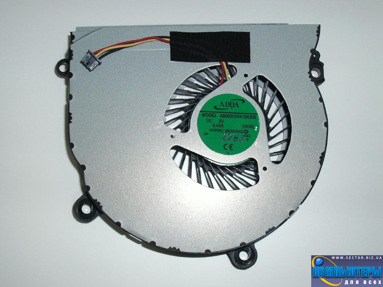 Кулер к ноутбуку Samsung NP355E4C NP355E5C NP355E5X p/n: AB08005HX10K300. Фото № 2.