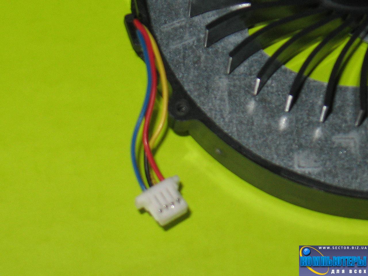 Кулер к ноутбуку Lenovo B570 V570 V570A Z570 p/n: AD0705HX09KB00. Фото № 1.